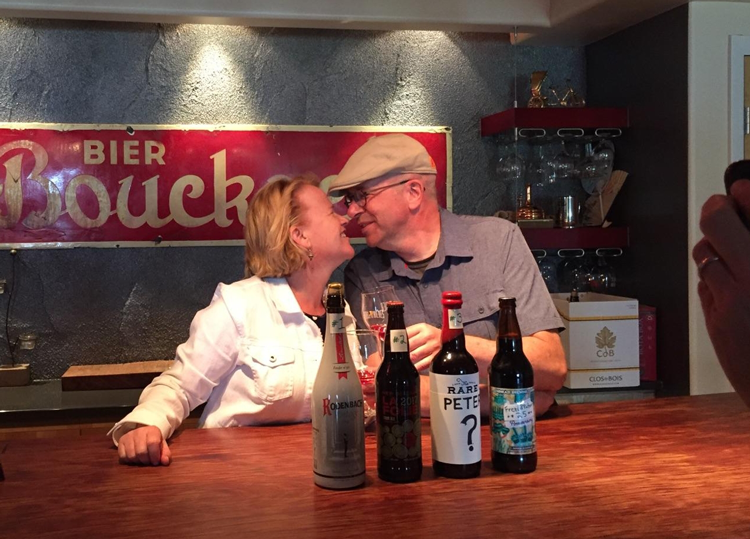 Frezi and Peter Bouckaert Fort Collins Purpose Brewing and Cellars Fort Collins