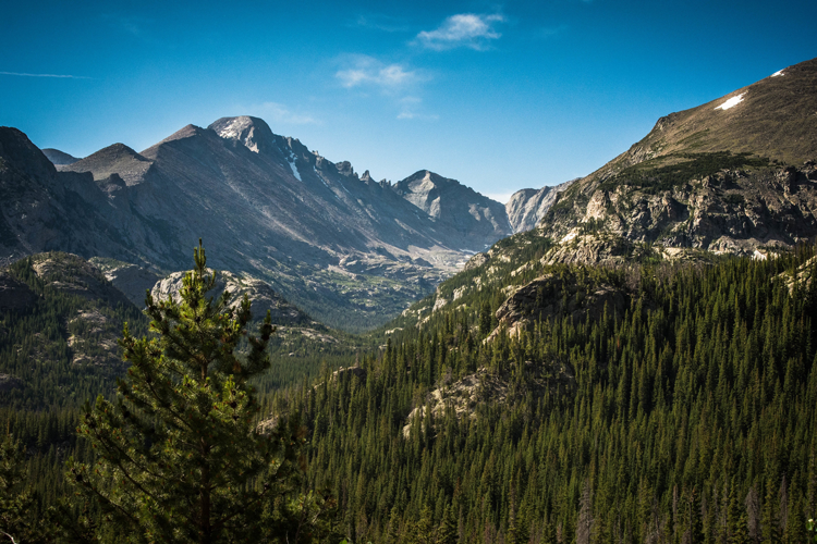 Hikes in Rocky Mountain National Park Estes Park