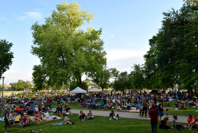 Lagoon Summer Concert Series Fort Collins Colorado Summer