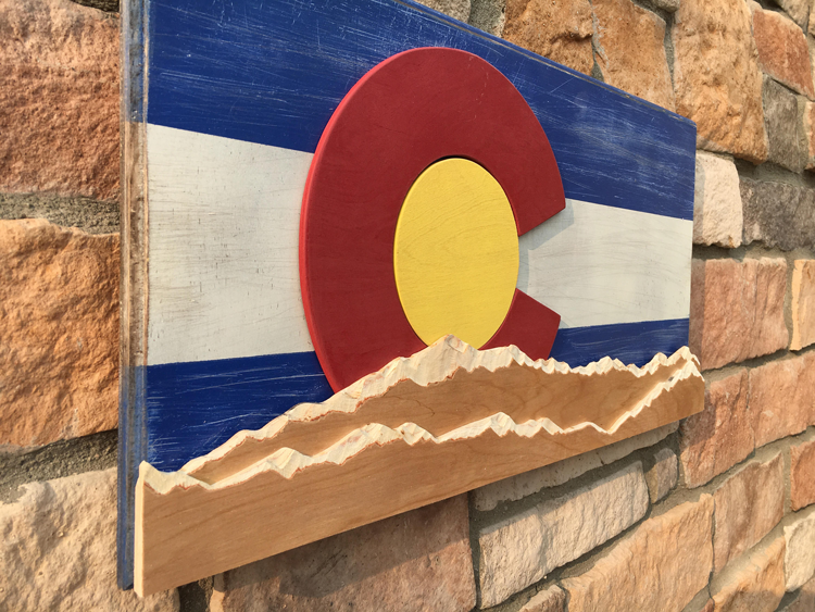 Colorado inspired art buy on Etsy