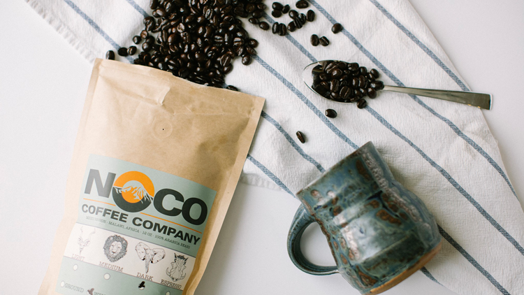 NoCo Coffee Company Greeley Colorado local coffee roasters