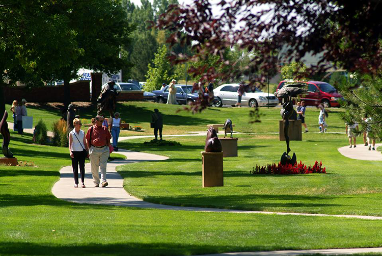 Benson Park Sculpture Garden Loveland, CO