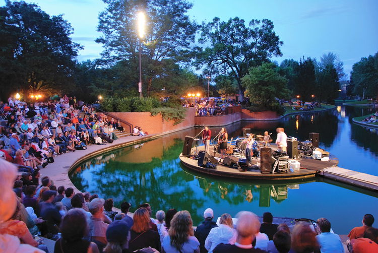 Foote Lagoon Amphitheater Loveland, CO
