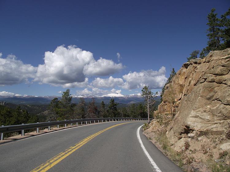 Peak to Peak Highway Colorado
