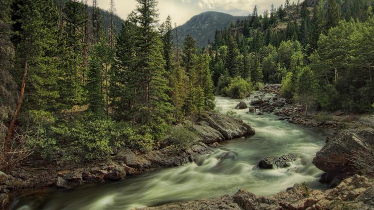 Cache la Poudre–North Park Scenic and Historic Byway Colorado