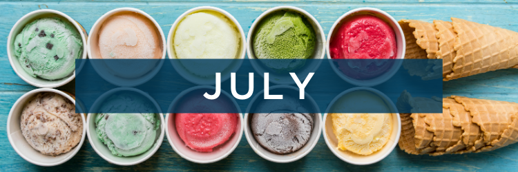 National Holidays for July