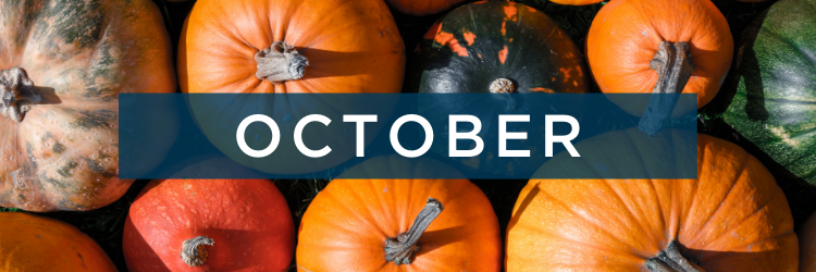 National Holidays for October