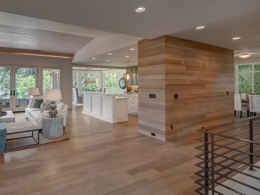 Wood Panelling shot