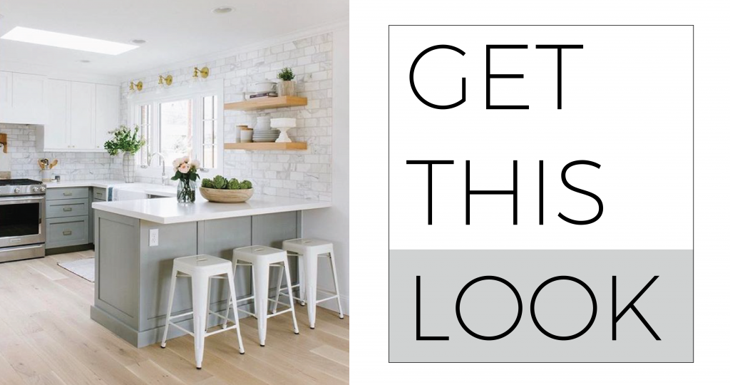 Get This Look: Transitional Kitchen
