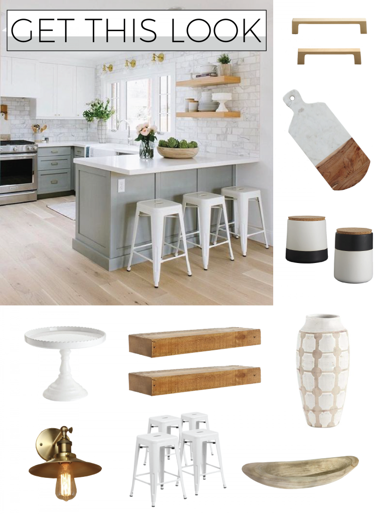 Get This Look Transitional Kitchen The Local Arrow