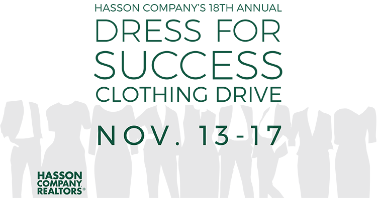 18th Annual Dress For Success Clothing Drive