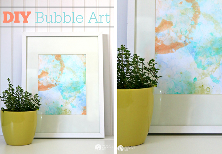 Today's Creative Life Blog DIY Bubble Art Prints