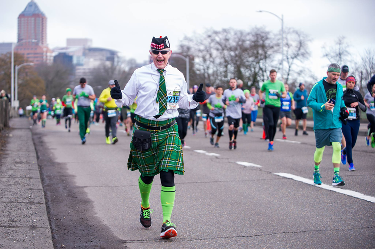 2018 Shamrock Run Portland, OR