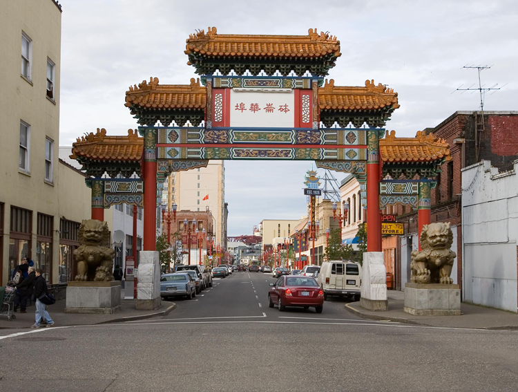 Old Town/Chinatown Portland, OR