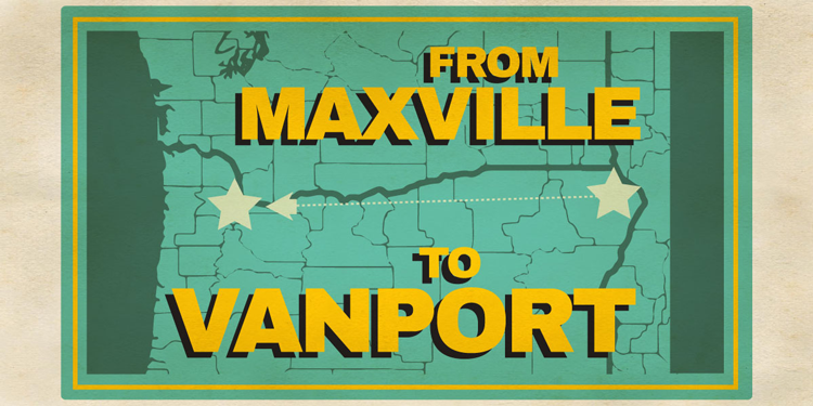 From Maxville to Vanport Portland, OR