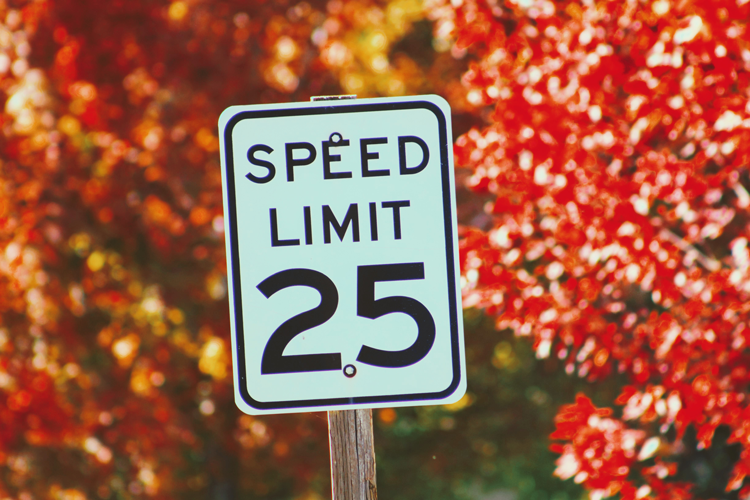 Speed Limits in Bend, Oregon