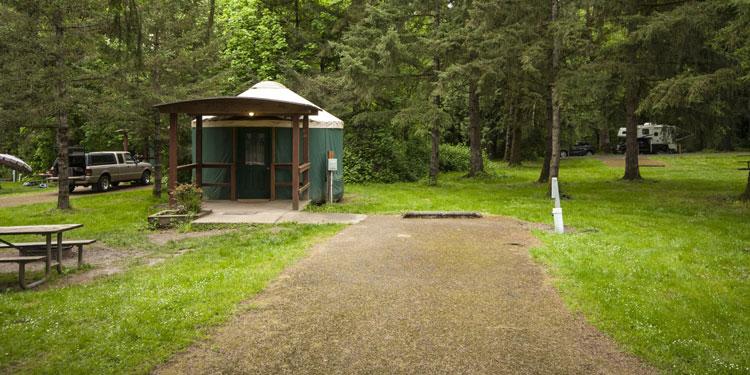 Paradise Point State Park Yurts Ridgefield, WA