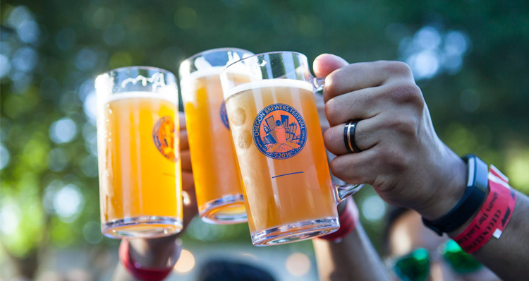 What to Expect at the Oregon Brewers Festival in Portland, July 26–29