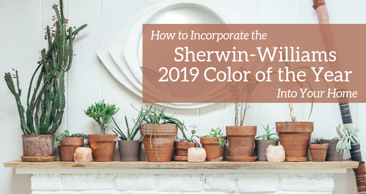 How to Incorporate the Sherwin-Williams 2019 Color of the Year Into Your Home