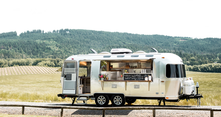 Silver Julep: Portland's Award-Winning Bar Caterer In a Classic Airstream Trailer