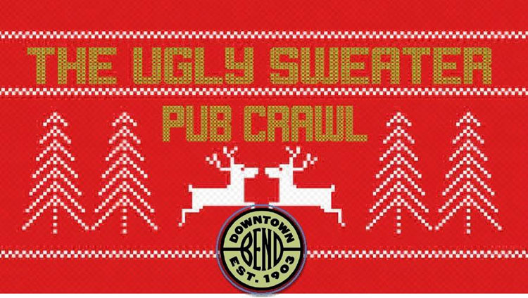 Ugly Sweater Pub Crawl Bend, OR