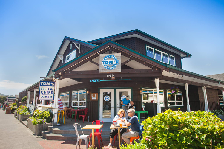 Tom's Fish & Chips Cannon Beach, OR