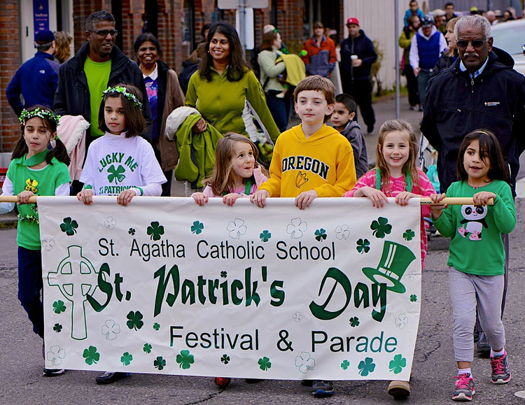 St. Patrick's Day Parade and Festival St. Agatha Catholic School