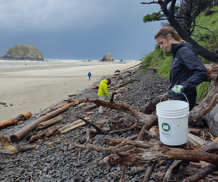 SOLVE Beach & Riverside Cleanup Cannon Beach, OR
