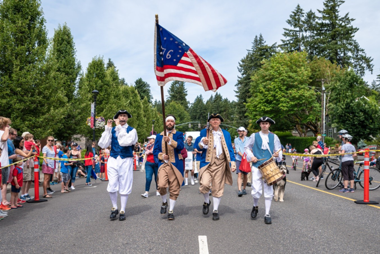 Star Spangled Parade & Celebration Lake Oswego, OR