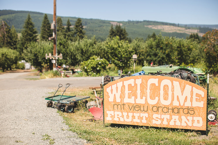 Mt View Orchards Cidery & Fruit Stand Hood River, OR