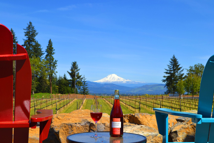 Stave & Stone Winery at the Vineyard Hood River, OR