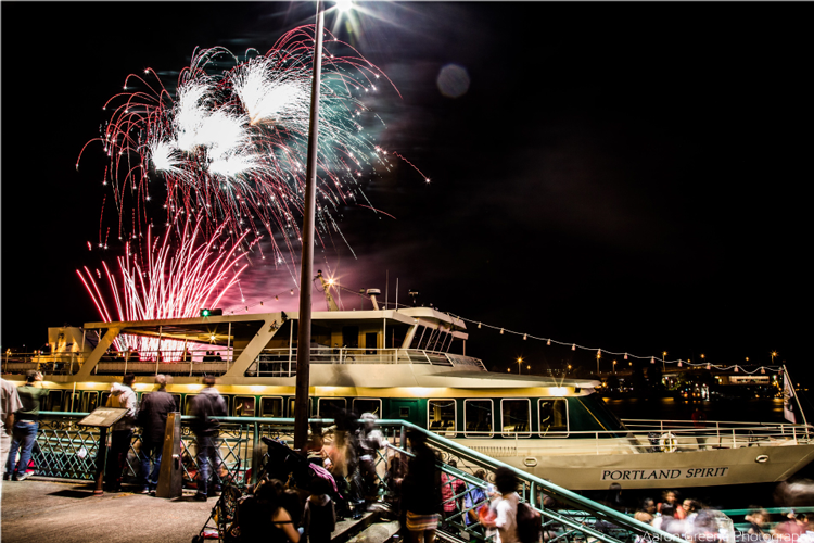 Independence Day Fireworks Cruises Portland Spirit