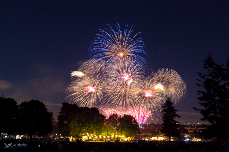Vancouver's Fireworks Spectacular