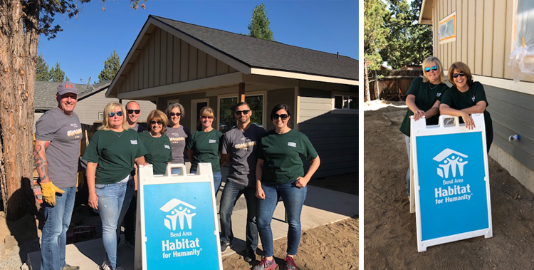 The Hasson Company Give Back Day Bend, Oregon