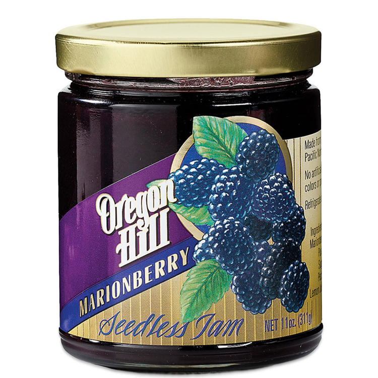 Seedless Marionberry Jam From Oregon Hill