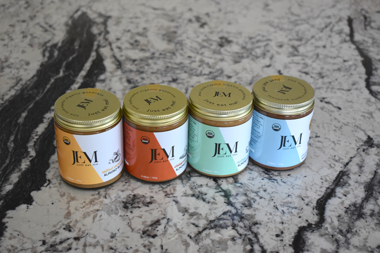 Organic Nut Butters From Jem Organic Nut Butters