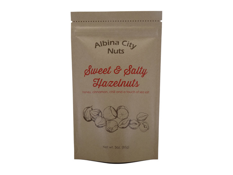 Sweet & Salty Hazelnuts From Albina City Nuts
