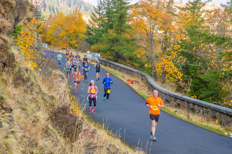 Columbia Gorge Marathon & Half Marathon