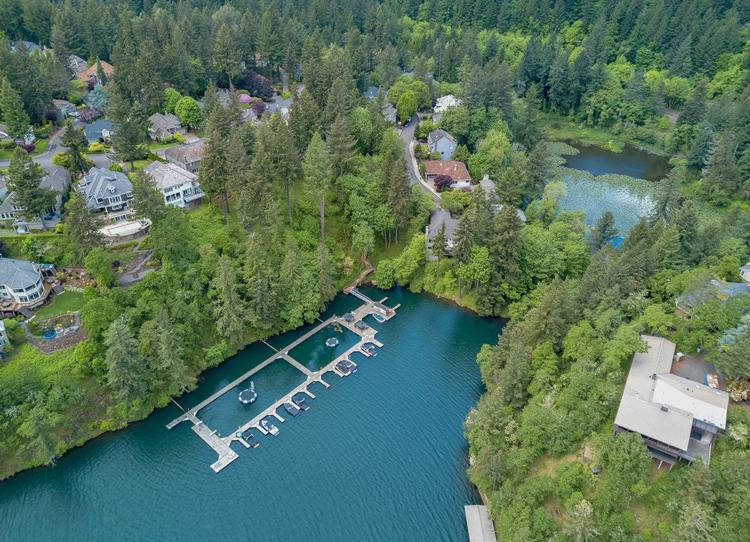 Lake Access in Lake Oswego, Oregon