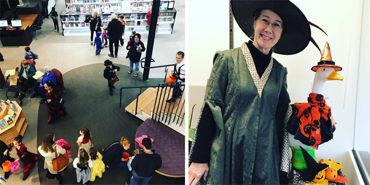 Monster Mash at the Happy Valley Library