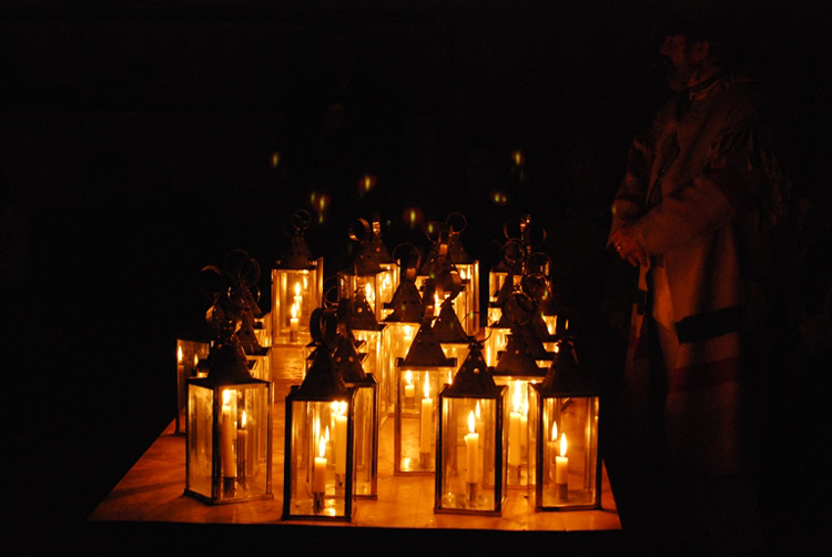 Lantern Tours at Fort Vancouver