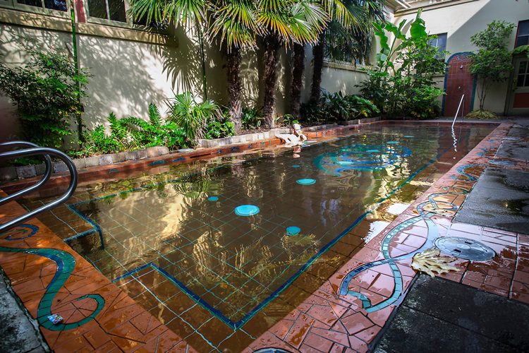 McMenamins Crystal Hotel Soaking Pool