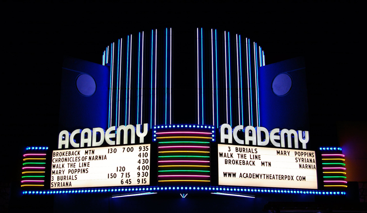 Academy Theater Portland, OR