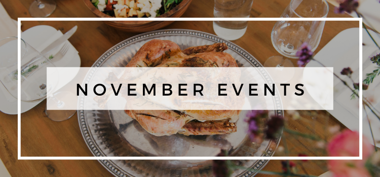 November Events in Portland, OR