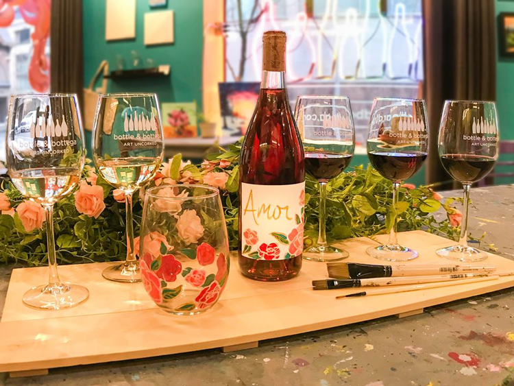 Wine Lovers Experience & Label Painting With Chris James Cellars