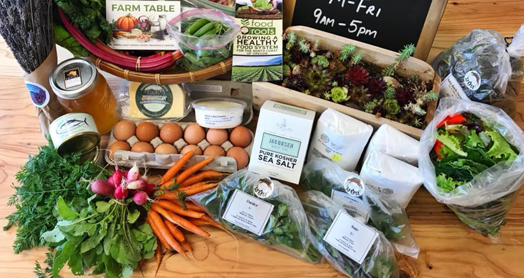 Where to Get Local Produce + Other Grocery Staples in the Cannon Beach Area