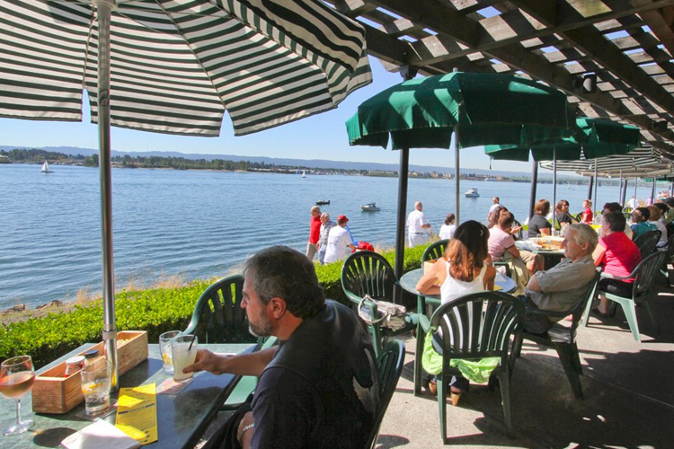 McMenamins On The Columbia   Vanvouver Restaurants with Outdoor Patios