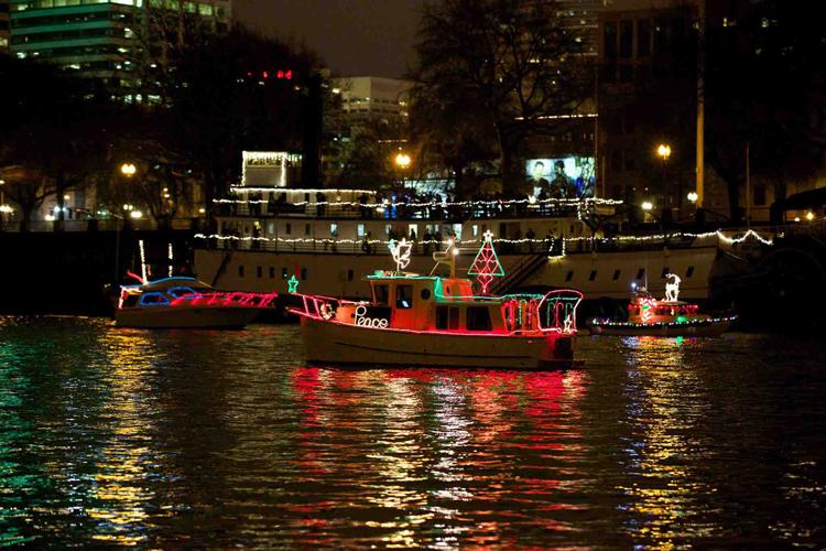Christmas Ship Parade Portland, OR