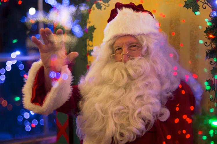 Santa Visits in Portland