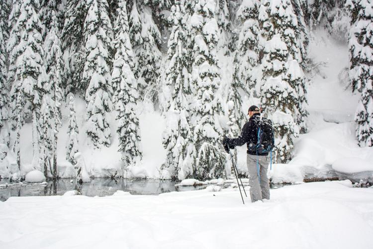 Snowshoeing in Southwest Washington | June Lake